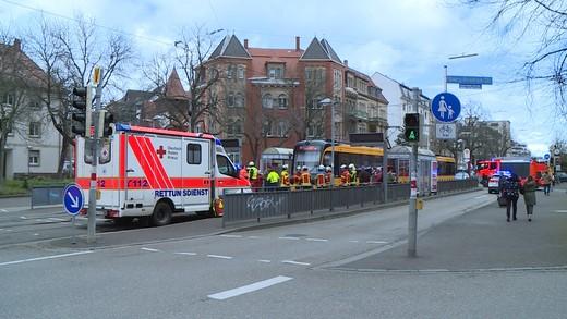 Straßenbahnunfall Karlsruhe