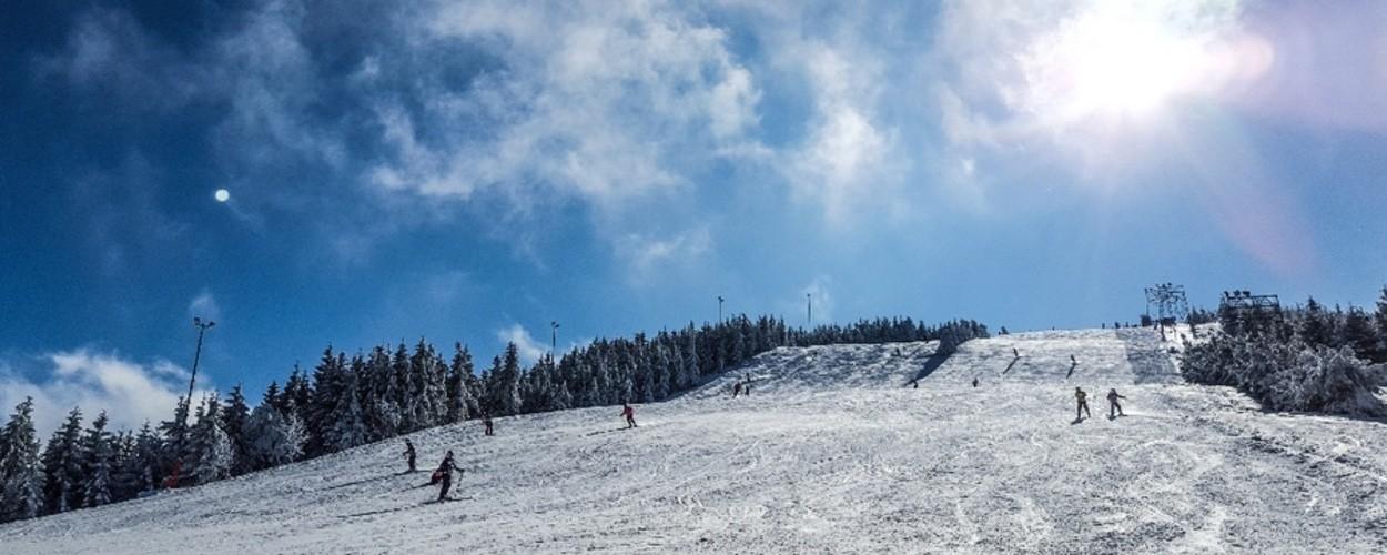 Schneehöhen Schwarzwaldhochstrasse