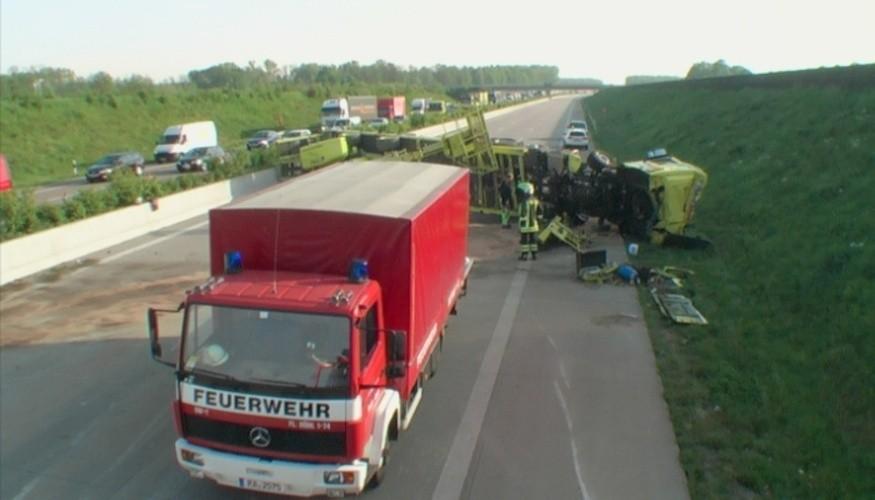 Verkehrssituation A5